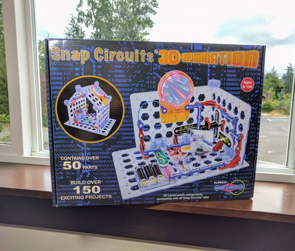 Snap Circuits 3d Illumination Review Electronics Kit Bliss Learn Elenco Electronic Set Richly